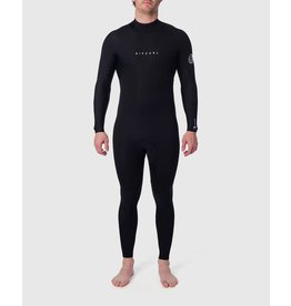 Rip Curl Dawn Patrol 3/2 Back Zip Wetsuit Black