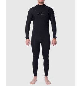 Rip Curl Dawn Patrol 3/2mm Chest Zip Wetsuit Black