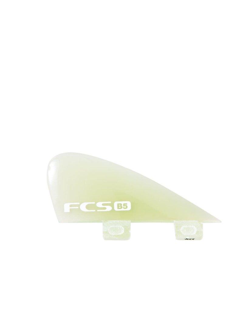 FCS B5 Bonzer PG Clear Quad Fin Set