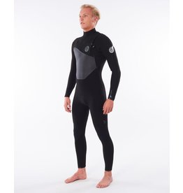 Rip Curl Flashbomb 4/3 Chest Zip Black