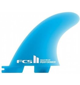 FCS II Performer Neo Glass Quad rear Medium