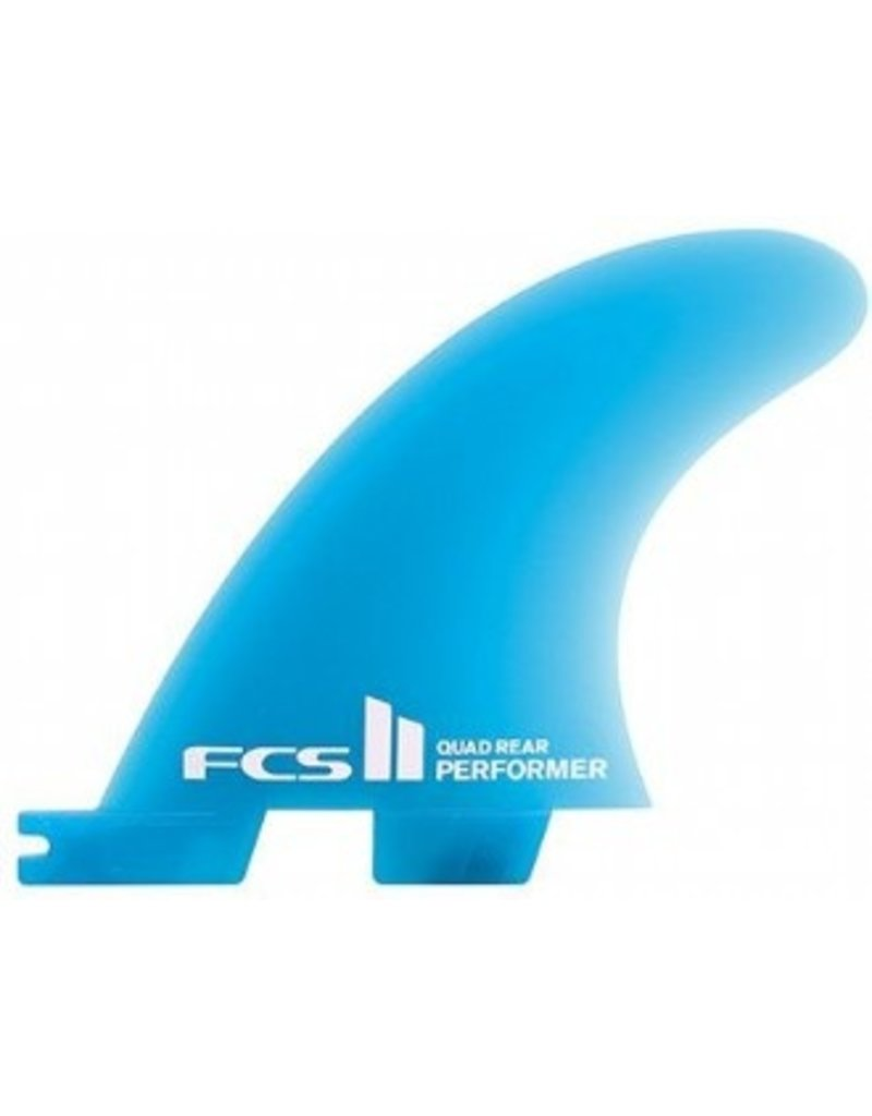 FCS II Performer Neo Glass Quad rear Medium