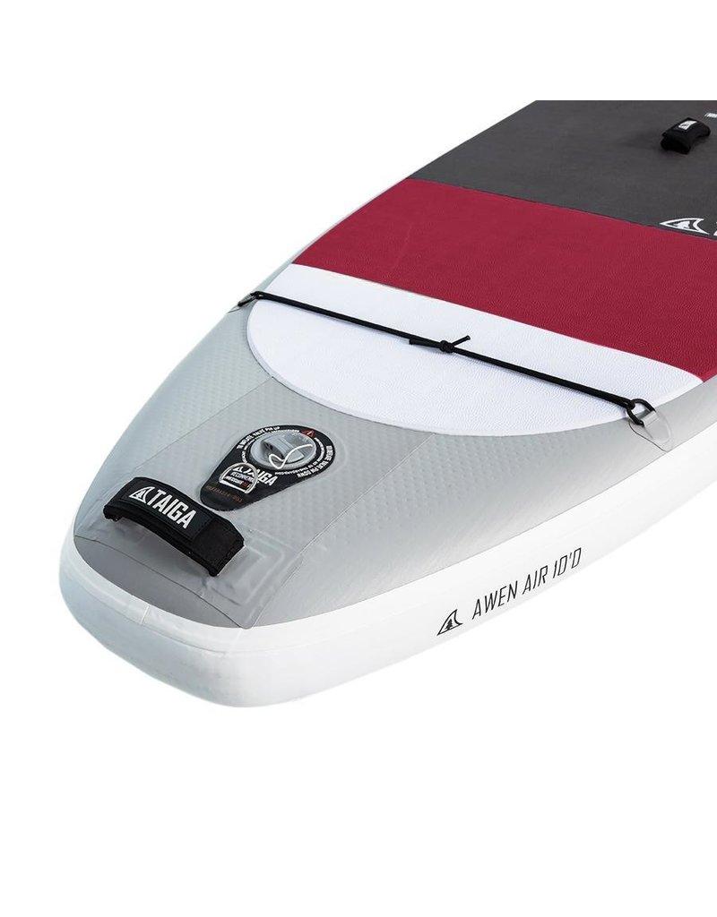 Taiga Inflatable SUP - Awen AIR 10' (Burgundy)