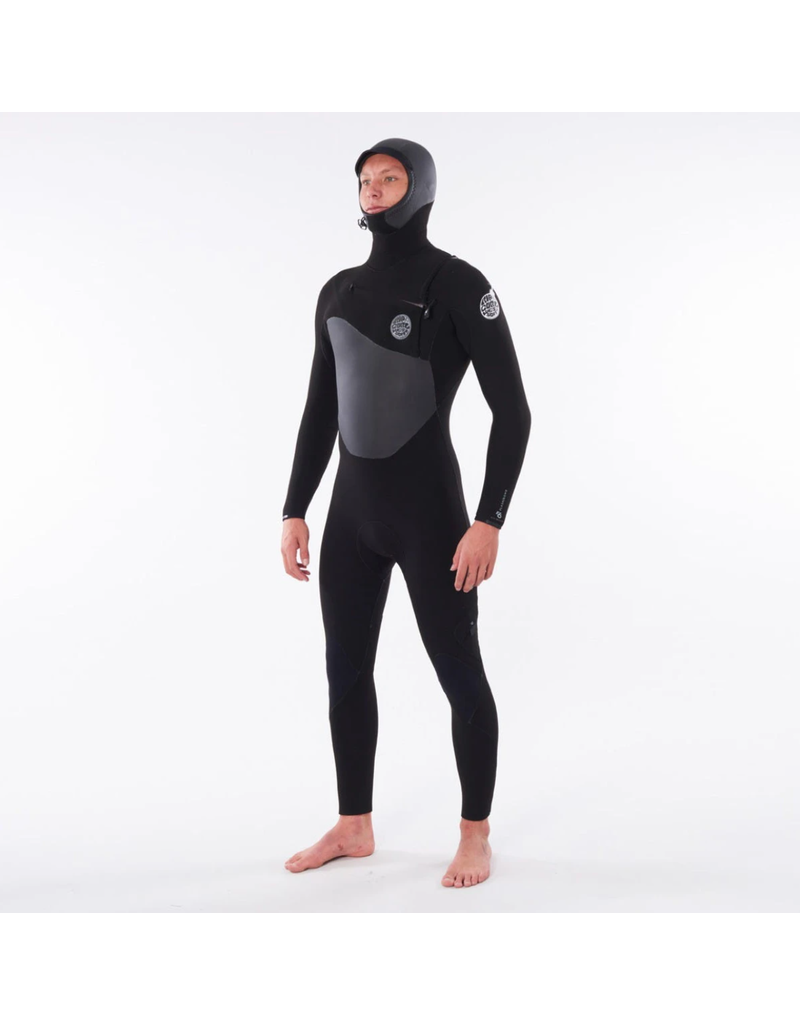 Rip Curl Flashbomb 5/4 Hooded Wetsuit Black