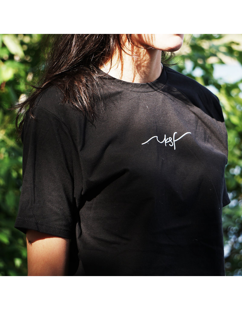 Maika T-Shirt Unisexe Black  by Out of the