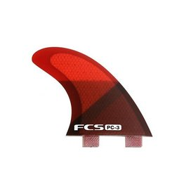 FCS FCS PC 3 Red Slice Tri Fin Set