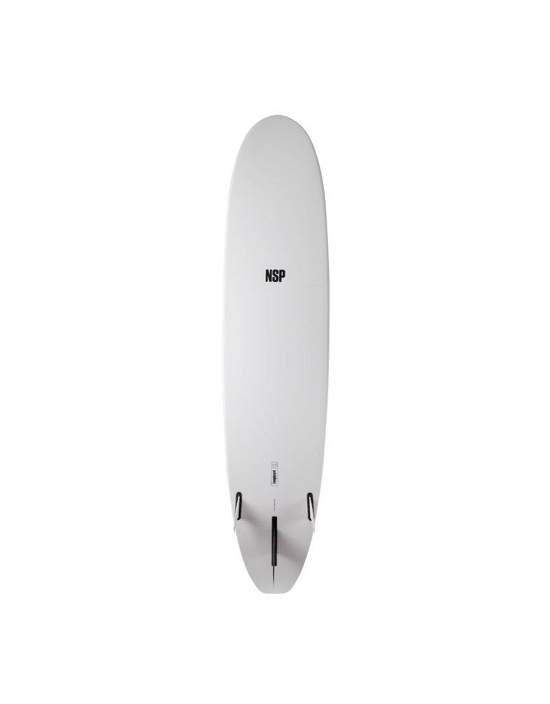 NSP Protech Longboard White