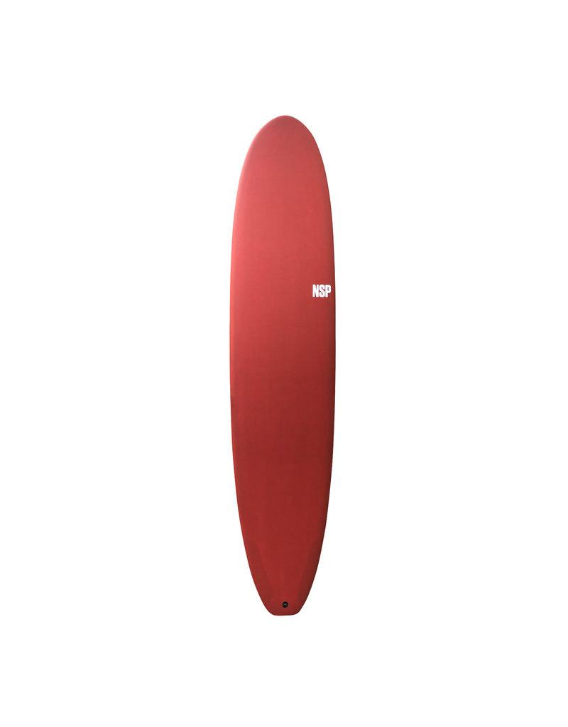 NSP Protech Longboard Rouge