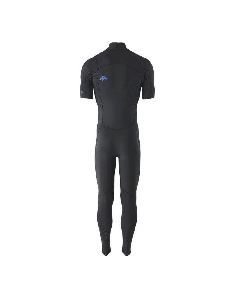 Patagonia M's R1 Lite Yulex FZ S/S Full Suit Black