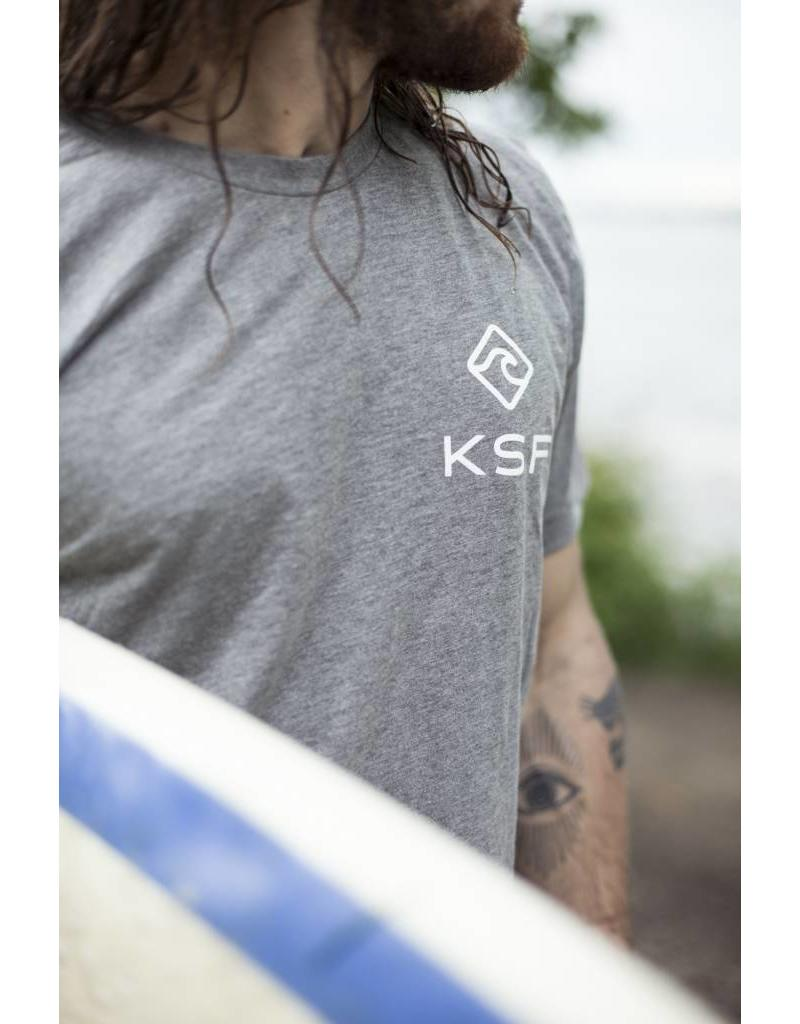 KSF T-Shirt Men Gray