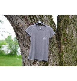 T-Shirt Femme Gris