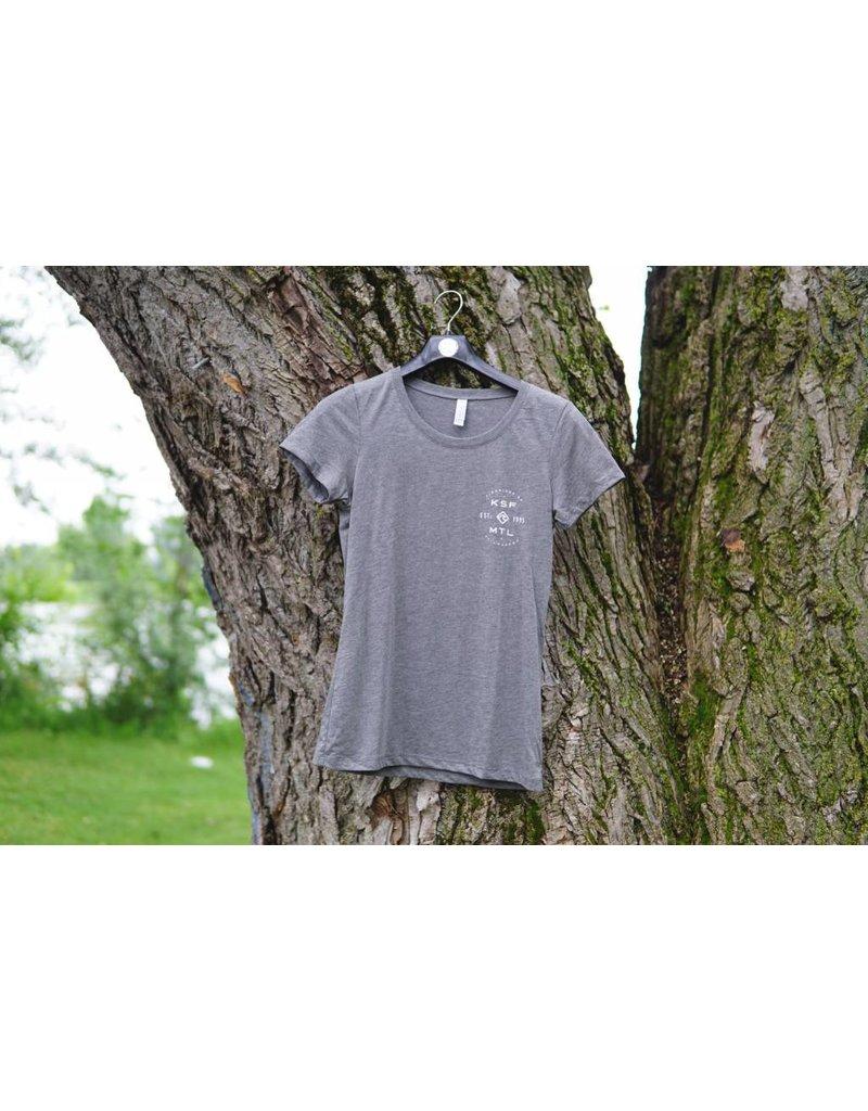 KSF T-Shirt Femme Gris