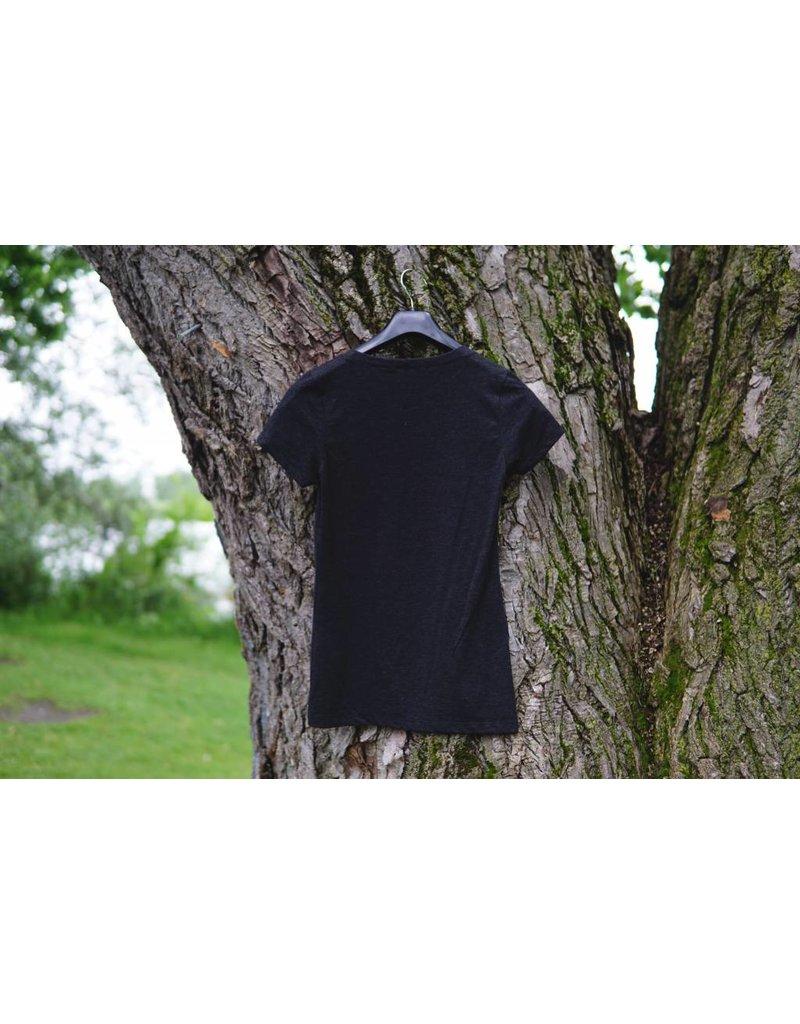 T-Shirt Femme Charcoal