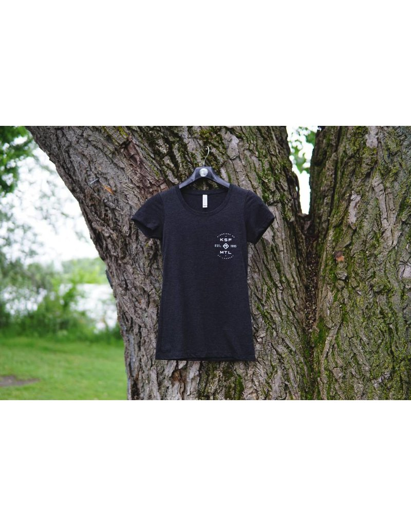 KSF T-Shirt Women Charcoal
