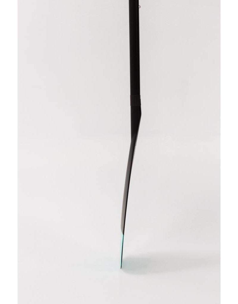 Taiga Pagaie hybride - Noir et Bleu - Ajustable 2 pièces (2017)