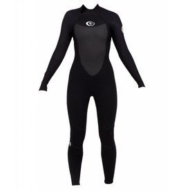Rip Curl Women Omega 3/2mm FL Black