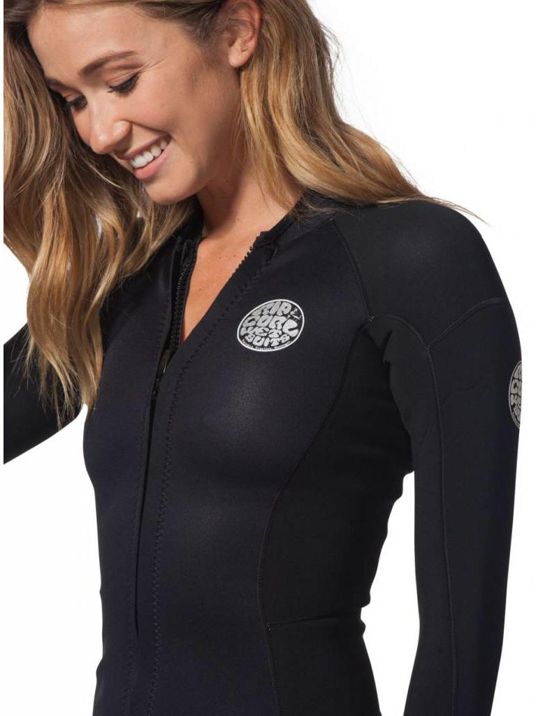 Rip Curl Women Dawn Patrol L/SL Jacket Black