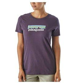 Patagonia W's Pastel P6 Logo Cotton Crew T-Shirt