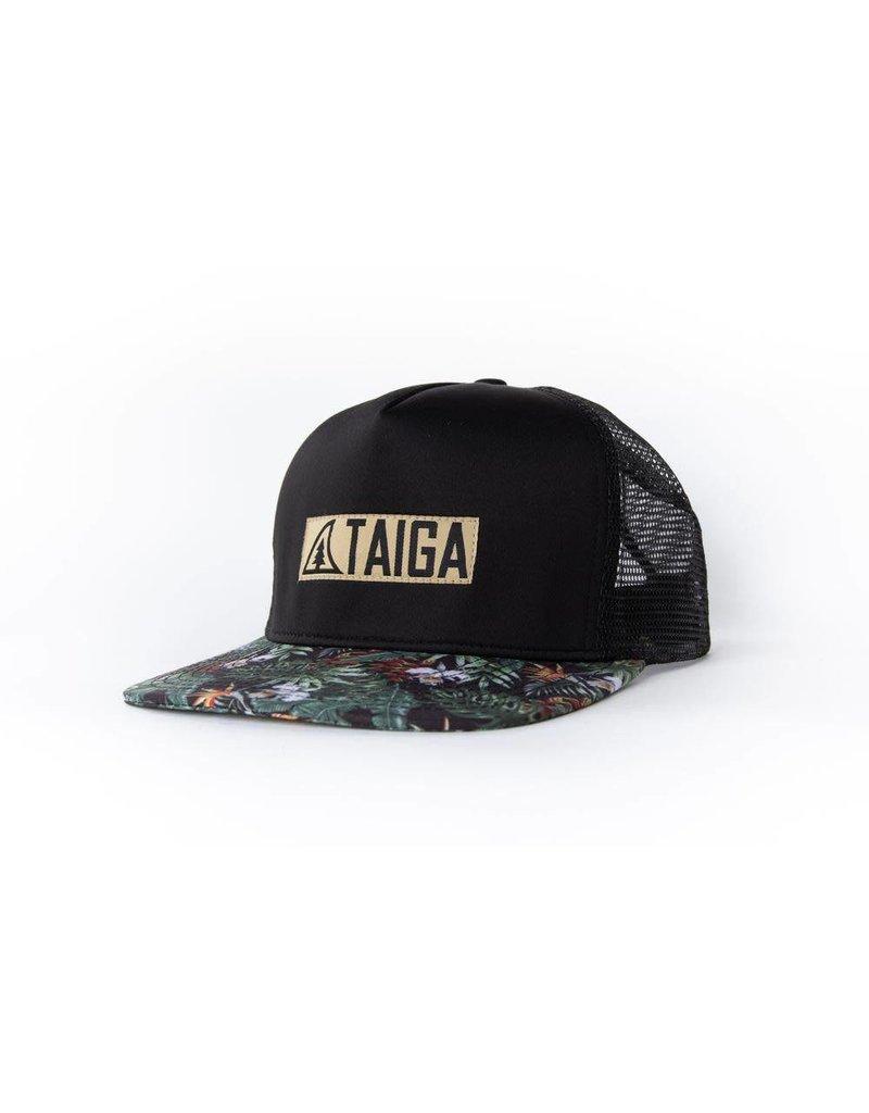 Taiga Hat  Black/Tropical