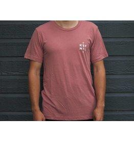 KSF Le Héron T-Shirt Unisexe Rosé