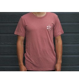 Le Héron T-Shirt Unisexe Rosé