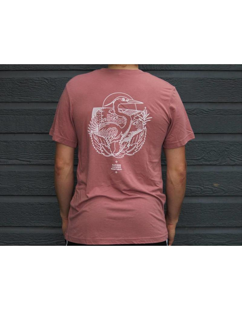 The Heron T-Shirt Unisex Rosé