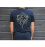KSF Le Héron T-Shirt Unisexe Navy