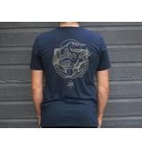 Le Héron T-Shirt Unisexe Navy