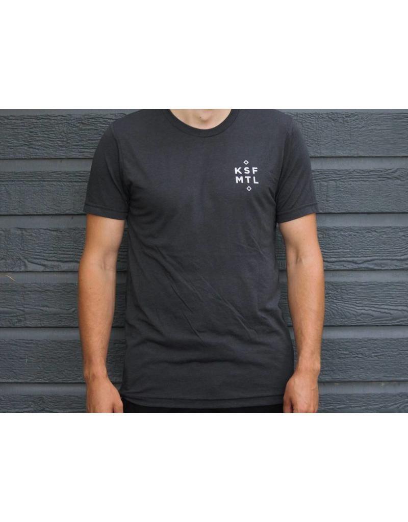 KSF L'esturgeon T-Shirt Unisexe Charcoal