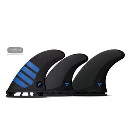 Futures Alpha Carbon F6 5 Fin Set