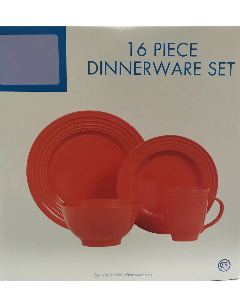 16pc Dinnerware Set