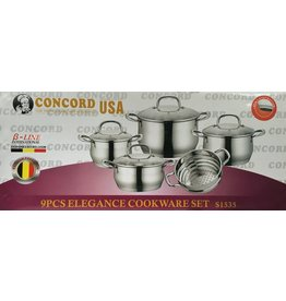 Concord USA Concord Stainless Steel Cookware Set