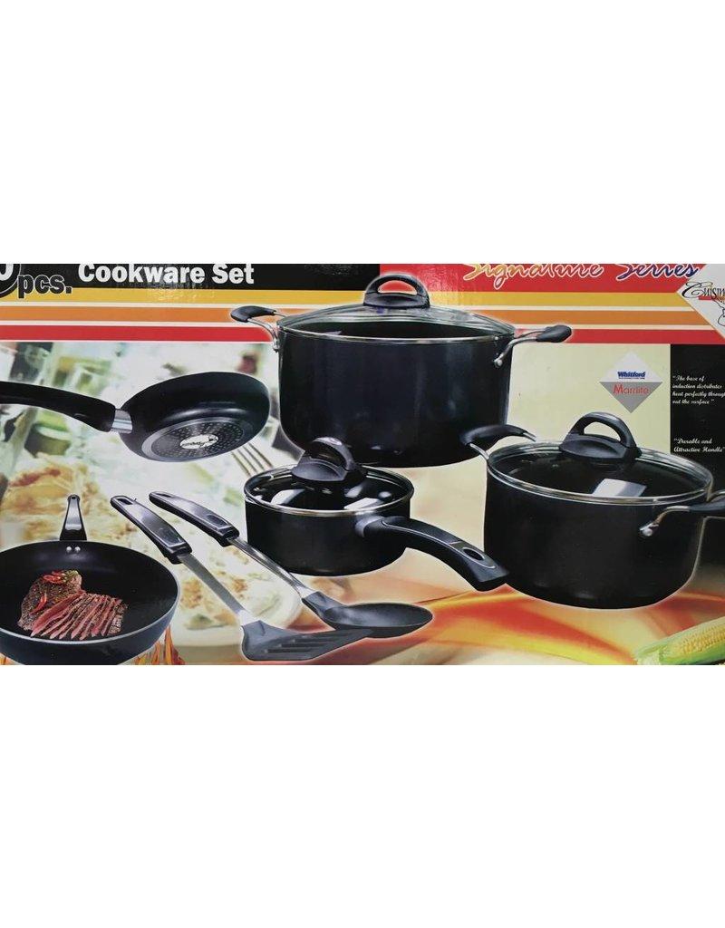 Signature Series Signature Series Non-Stick Aluminum Cookware Set
