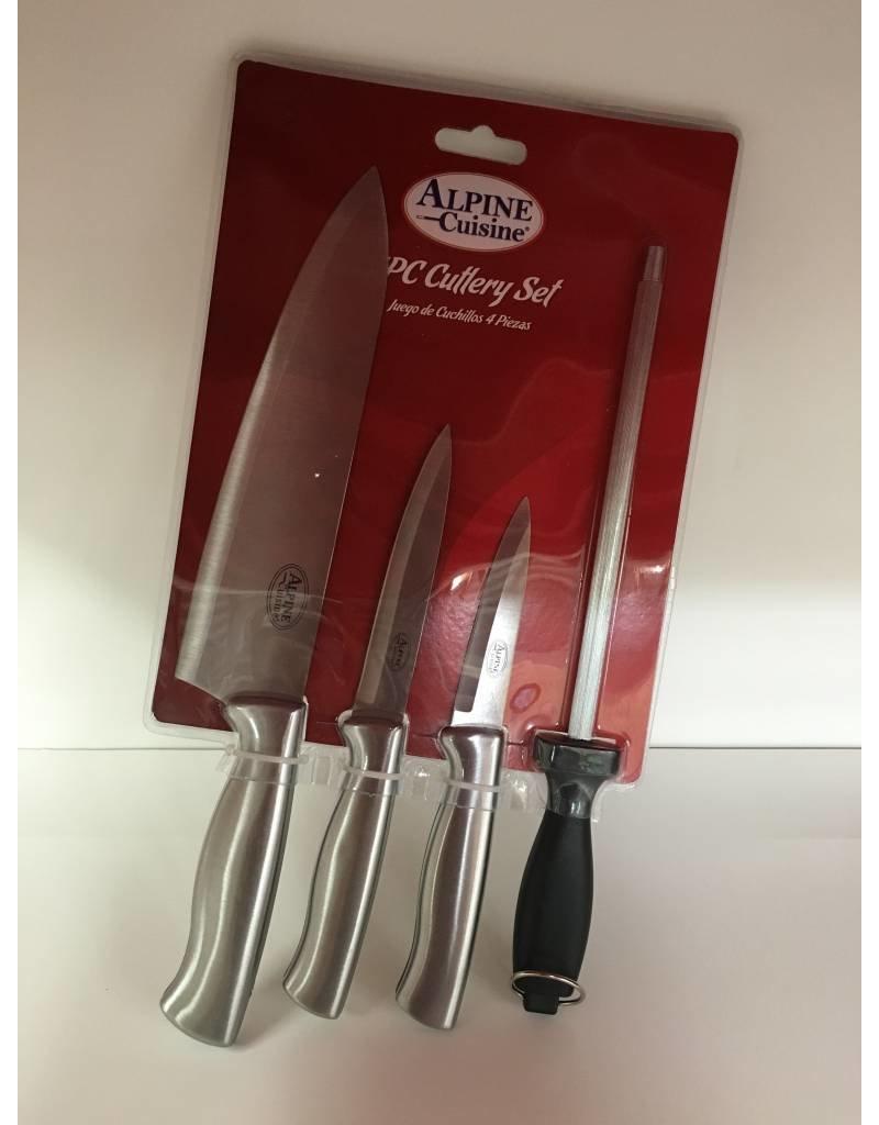 Alpine Alpine 4pc Cutlery