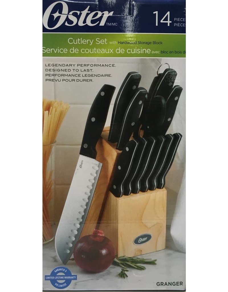 Oster Oster 14pc Cutlery with Block