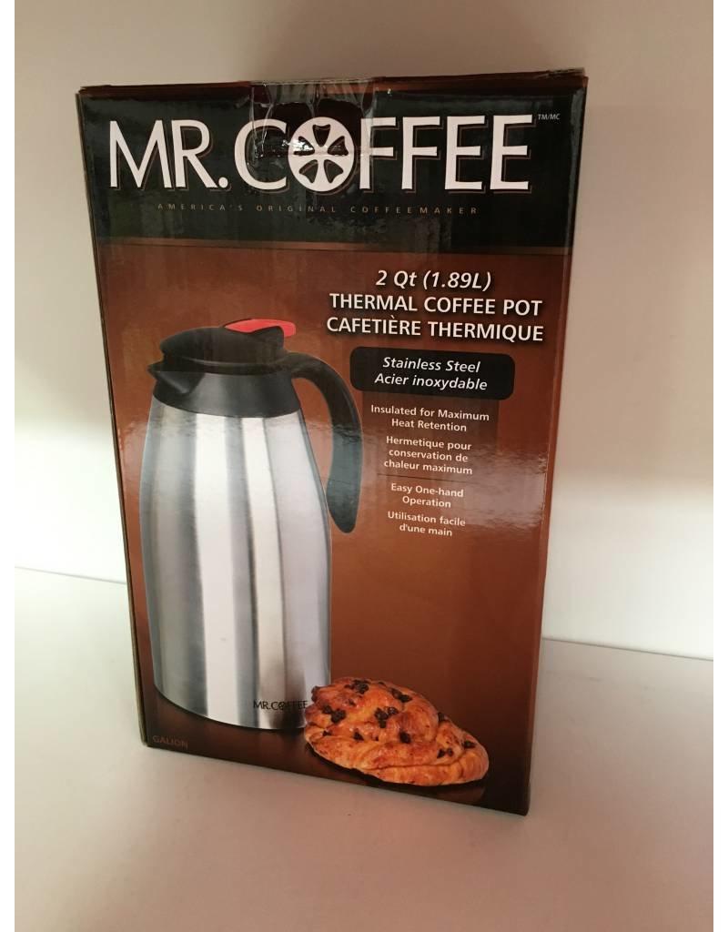 Mr. Coffee 2-QT Thermos