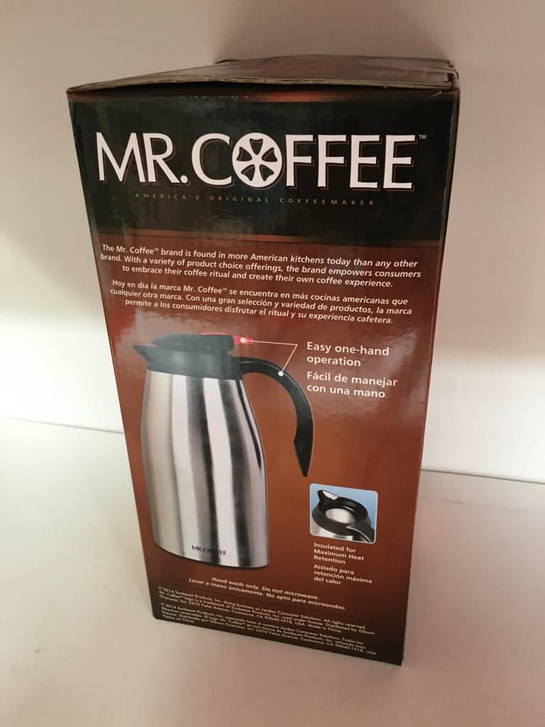 Mr. Coffee 2-QT Thermos