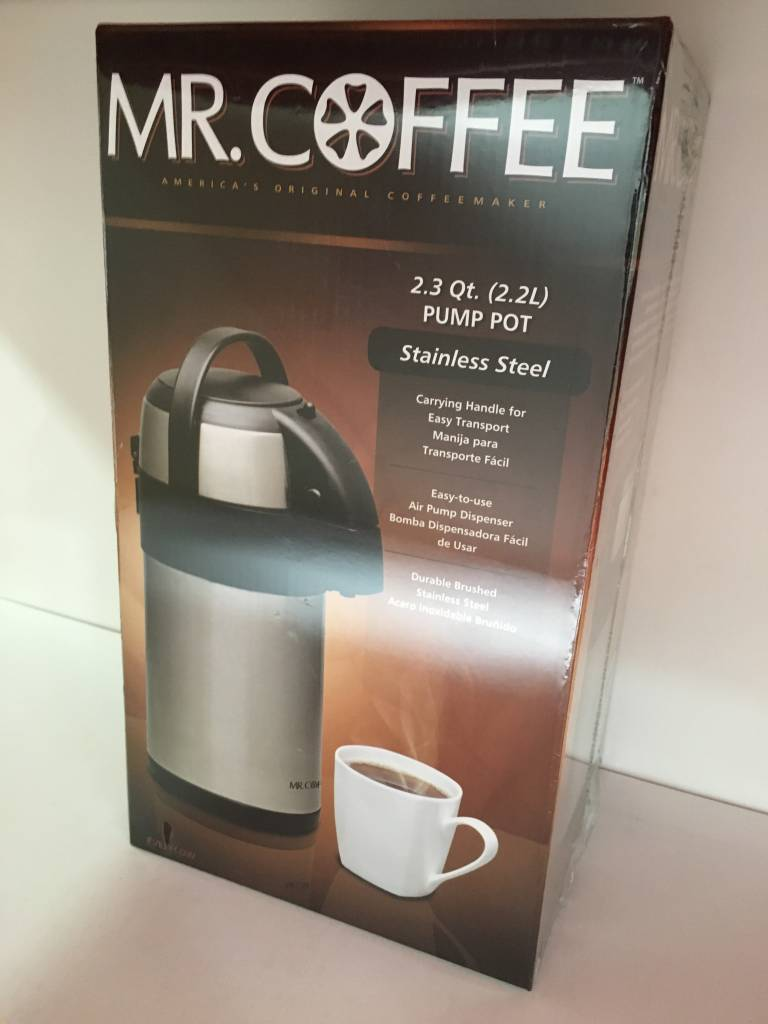 Mr Coffee Pump Pot 2 3 Qt