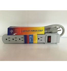 GMI 6-Outlet Power Strip