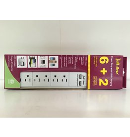 Tuff Bros Power Strip with USB (6+2)