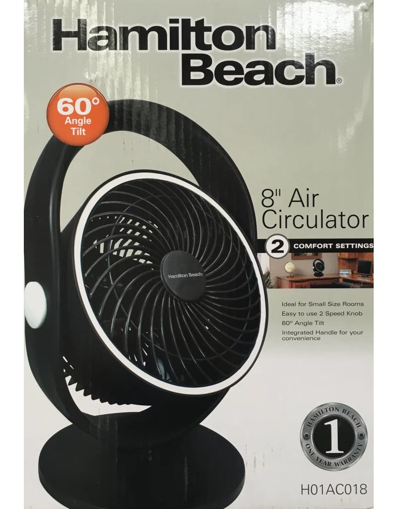 "Hamilton Beach Hamilton Beach 8"" Fan"