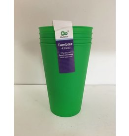 DO DO 17oz Plastic Cups - 4 Pack