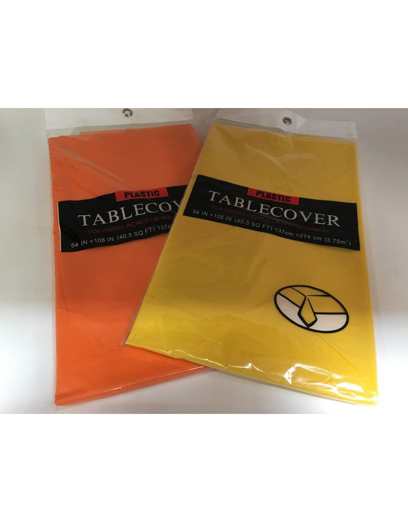 Table Cover - Rectangle Plastic