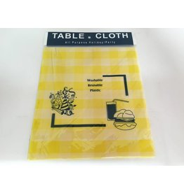 Checkered Table Cover Reusable - Rectangle