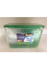 Basix Basix Food Containers - 48 pcs
