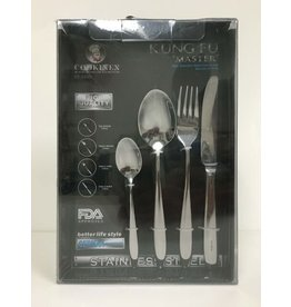 Cookinex Kung Fu 20pc Stainless Steel Utensil Set