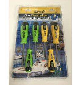 Metrix 6pc Floatable Screwdriver Set