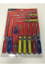 ATE Chrome Vanadium 14pc Screwdriver Set