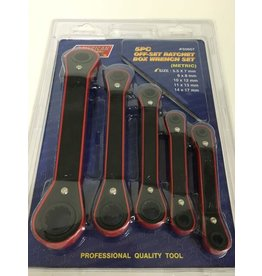 ATE 5pc Offset Ratchet Box Wrench Set