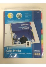8 Tab Color Divider